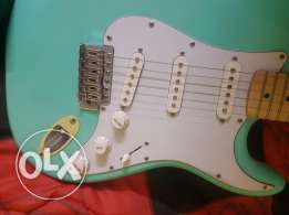 Electric guitar stratocaster jay tuser jt 300