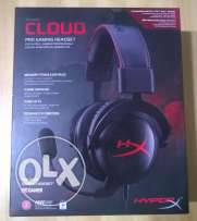 Kingston HyperX Cloud Gaming Headset - Black **جديدة متبرشمة**