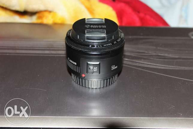 lens canon 50mm