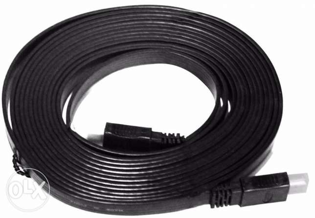 HDMI Flat Cable 5 Meters- Black