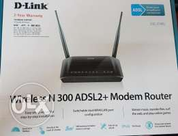 D-Link Wireless N300 ADSL Router