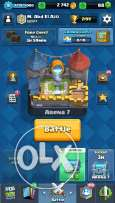 Clash Royale acc (IOS)