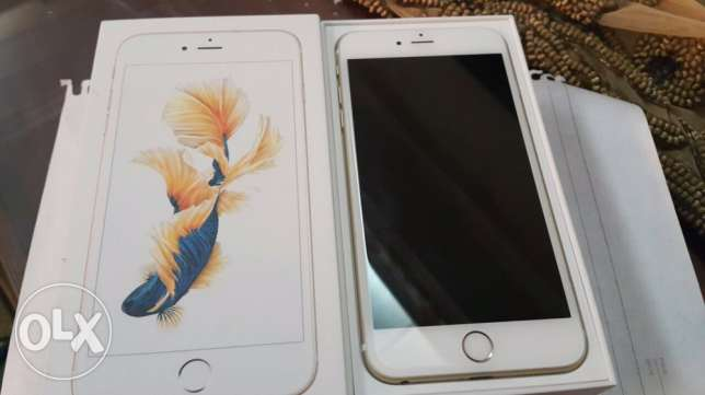 iphone 6s plus 64 giga gold with all accessories like new مدينة الإسماعيلية -  2