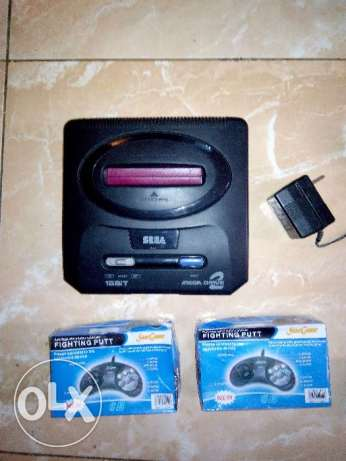 سيجا ميجادرايف 2 ياباني أصلي_Sega Megadrive 2 Made In Japan