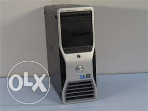 Dell Precision T3500 workstation 4CORE CASH 8Mللرندار والجرافيك