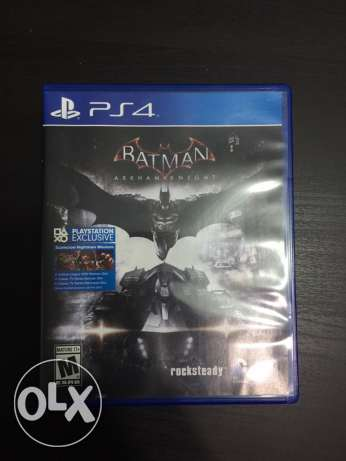 Batman Arkham knight PS4 عين شمس -  1