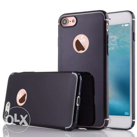 iPhone 7 Metallic Electroplating Matte Hard Plastic Back Cover