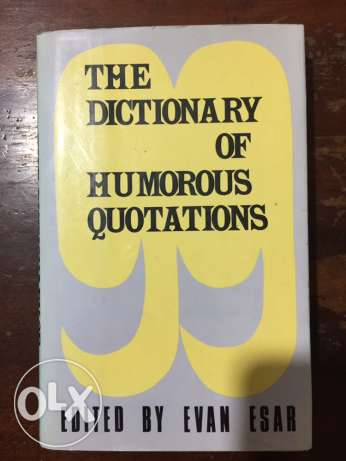 the dictionary of humorous quotations