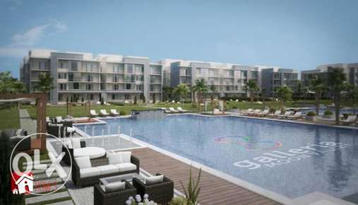 Apartment 162m + Garden for sale Galleria Moon Valley القاهرة الجديدة -  2