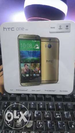 Htc M8 _ New _32G _ Gold