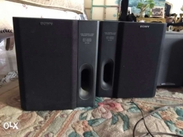 Sony high power digital audio with 8 speakers
