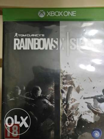 Rainbow seige game for xbox one