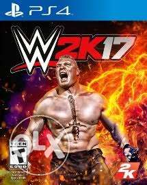 Wwe17 and pes17 digital PS4 6 أكتوبر -  1