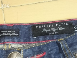 Philip Plein original jeans used for few times