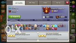 اكونت كلاش اوف كلانس clash of clans