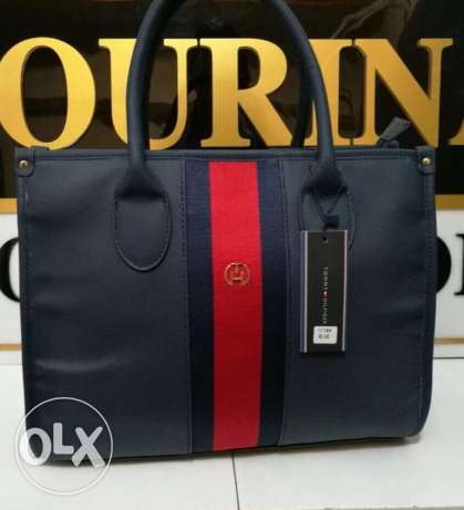 original tommy hilfiger bag available now for immediate purchase