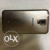 Samsung galaxy S5 gold 16 4G perfect condition from UK