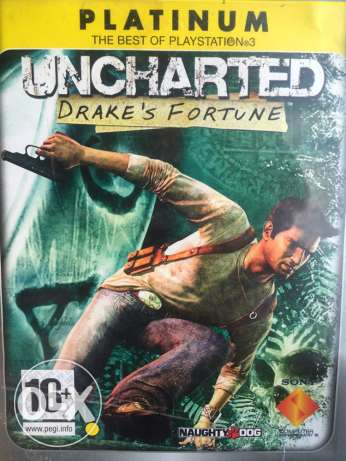 uncharted for ps3 cd
