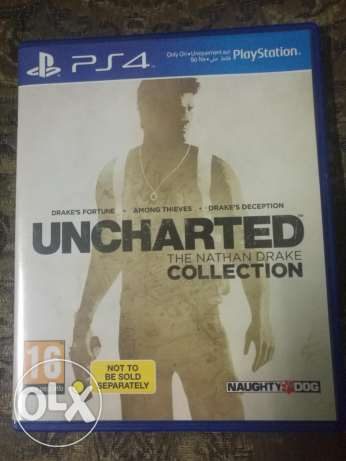 Uncharted Collection 1,2,3 PS4