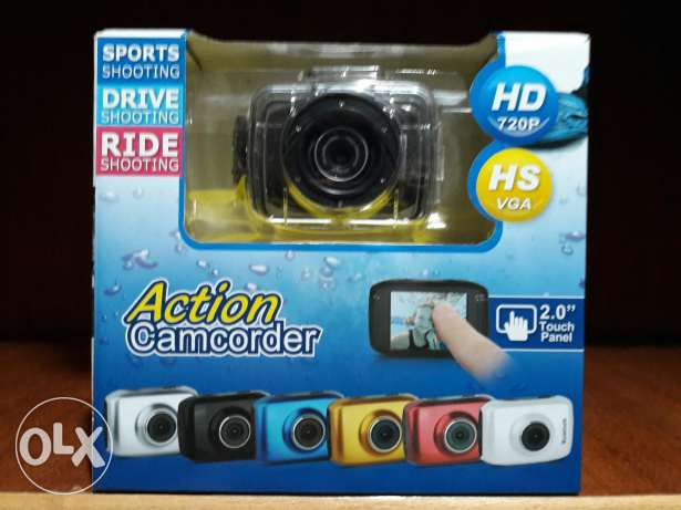 Camcorder sport (water proof) 720p | كاميرا اكشن