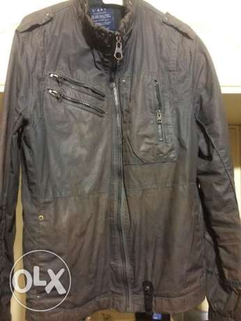 biker jacket slime fit size small from duabi river island جاكيت موتو