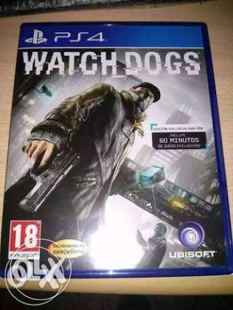 لعبه Watch dogs ps4