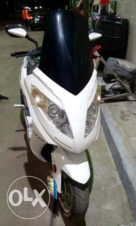 Scooter lifan 200 سكوتر