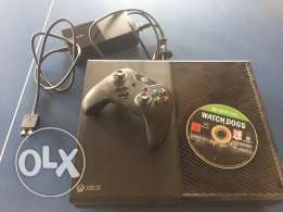 Xbox one with Watch Dogs game