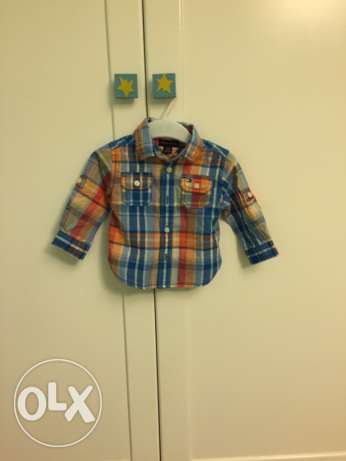 tommy chemise not used 3 to 6 months baby boy الشيخ زايد -  1