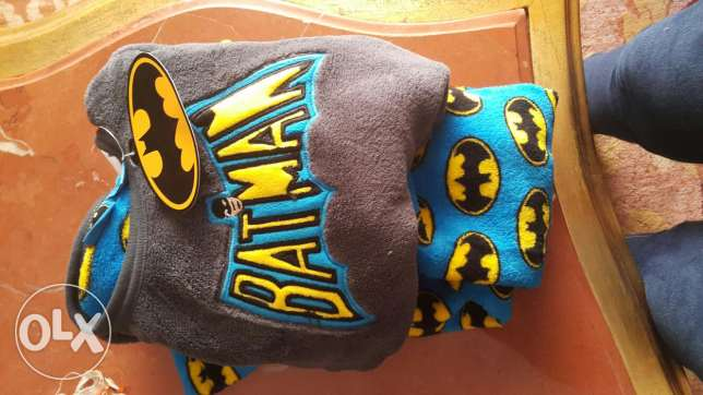 Batman pj suitable for 3 to 4 years الإسكندرية -  2