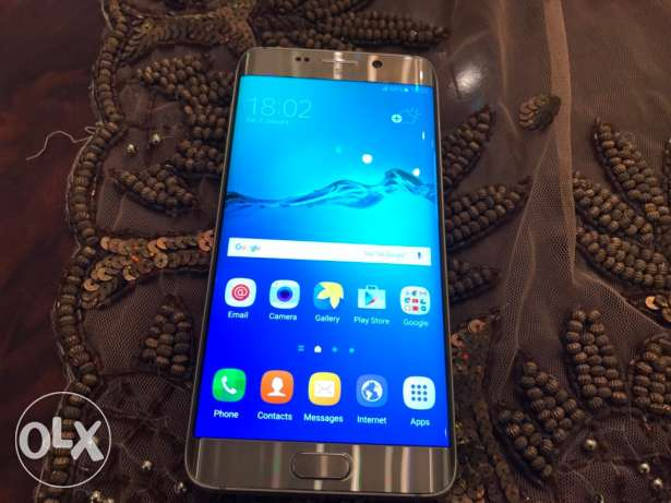 samsung galaxy s6 edge plus gold as new مدينة نصر -  5
