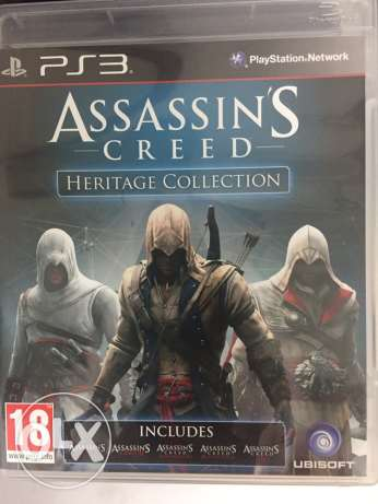 Assassin's creed heritage 5 games in 1
