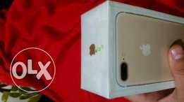 Iphone 7 plus 128 gold new sealed