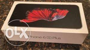 IPhone 6s Plus 32gb silver and grey