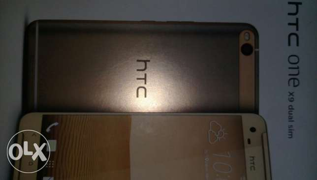 Mobile htc x9 gold