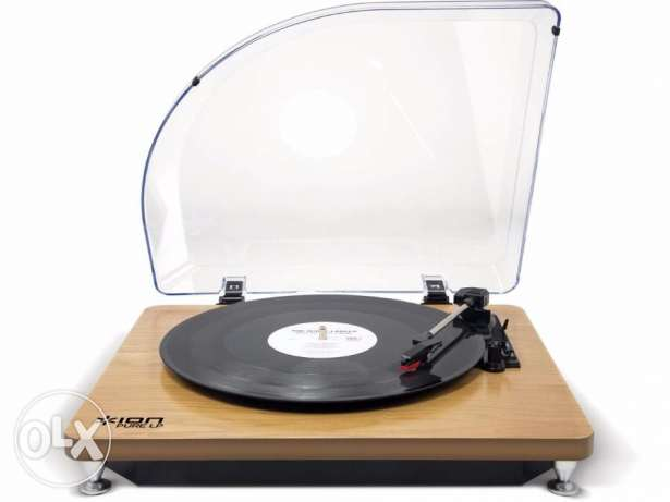 ION Turntable Record Player