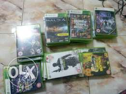 Xbox 360 slim and 35 games (bought from London)