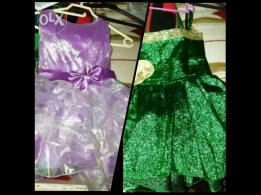 2_dresses for girl from 4 to 6 year