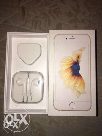 iphon 6s gold 64 GB المعمورة -  1