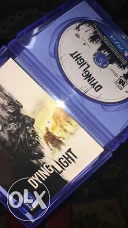 Dying light new with codes unused good condition for sail or trade الهرم -  2