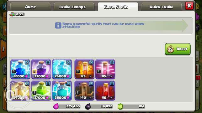 Clash of clans townhall10 المعادي -  3