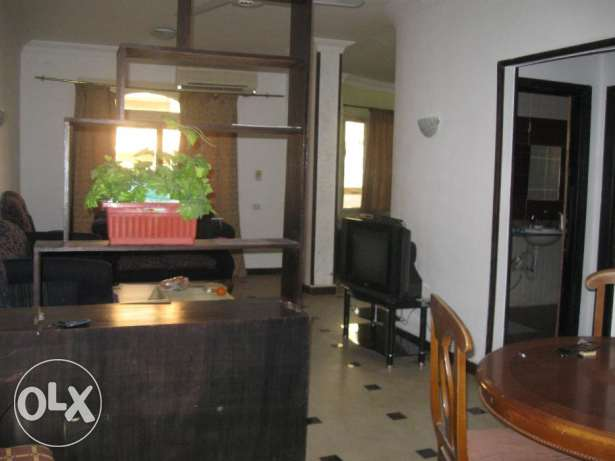 Flat in Kawther, behind bank Escan, with a sw. pool, 120m, 2 bedr