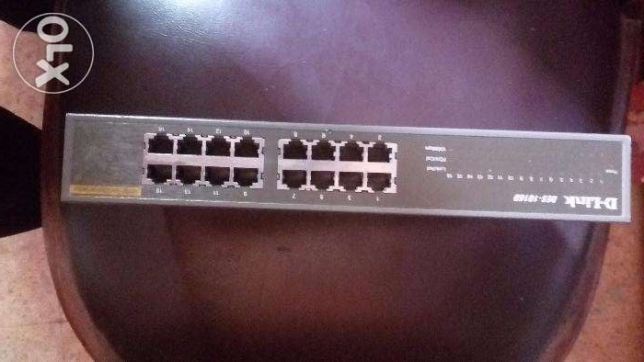 D-Link switch 16 port DES-1016D