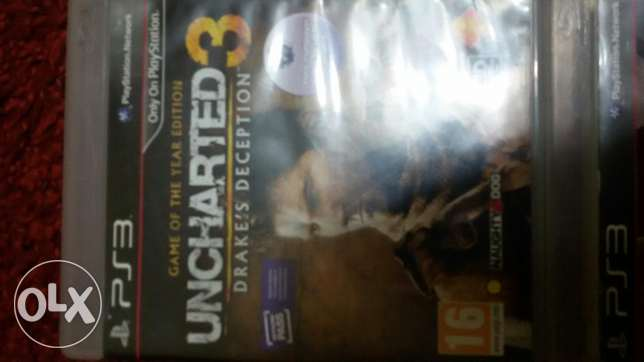 مطلوب call of duty advanced war علي ps3 مقابل Uncharted 3 gold edition