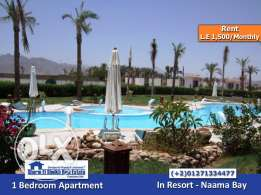 SS-596-Apartment for Rent in Resort- Naama Bay/ شقة للايجار بشرم الشيخ