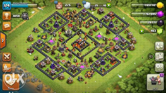 Clash of clans العبور -  1