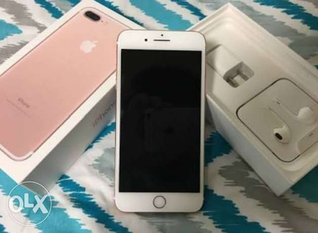 New iphone 7 pluse 128 rose gold