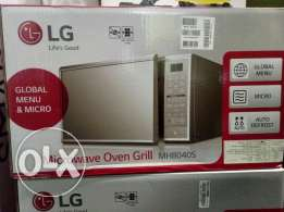 LG 40 litre microwave oven grill