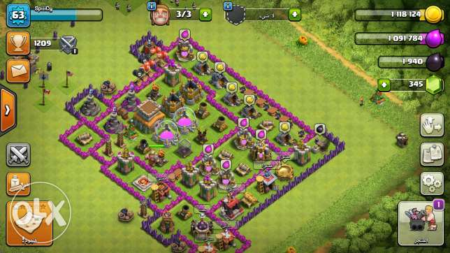 clash of clans town holl 8