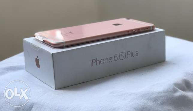 New iPhone 6s Plus 64 GB Rose Gold